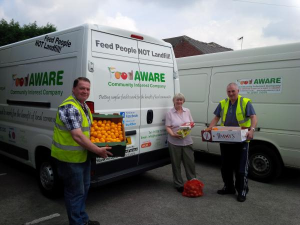 Purchase of new Food AWARE/HYPER Local Food Van
