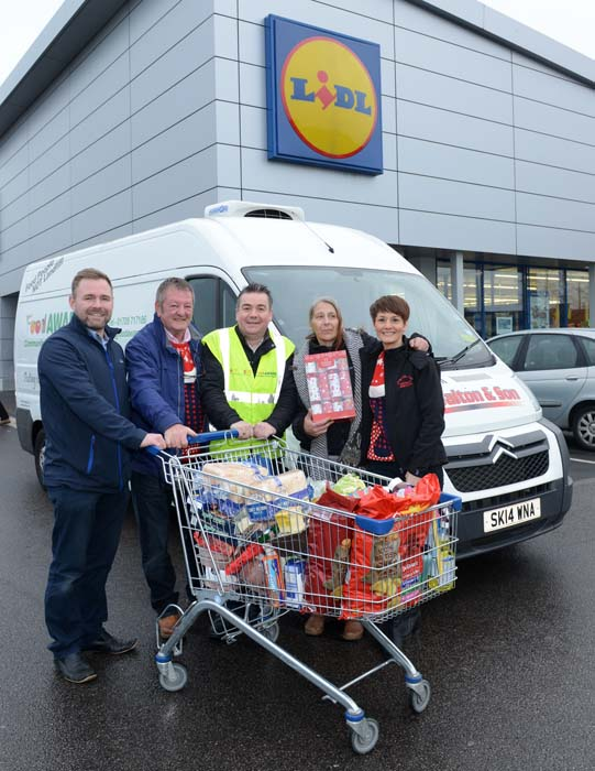 Partnering with JP Walton & Sons and Lidl to help disadvantaged families