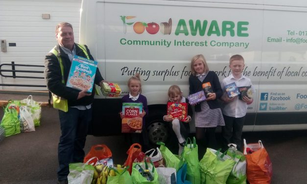Youngsters Step up to Boost our Doncaster Foodbanks Campaign