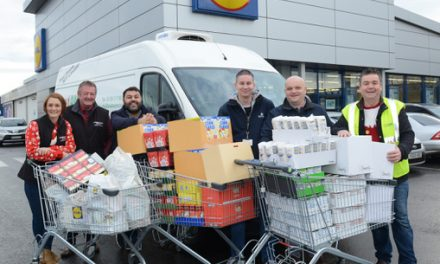 FoodAWARE once again team up with JP Walton & Son to help a disadvantaged family at Christmas