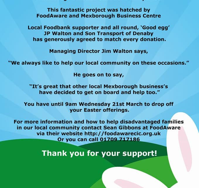 Easter Campaign 2018 – How You Can Help!