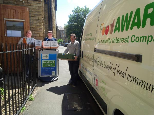 Surplus Food Donation from Bradfood Foodbank