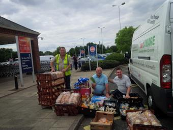 Food AWARE supports Thorne Moorends Foodbank in Doncaster