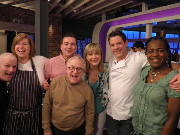 Food AWARE MD meets Celebrity Big Brother star Leslie Jordan!