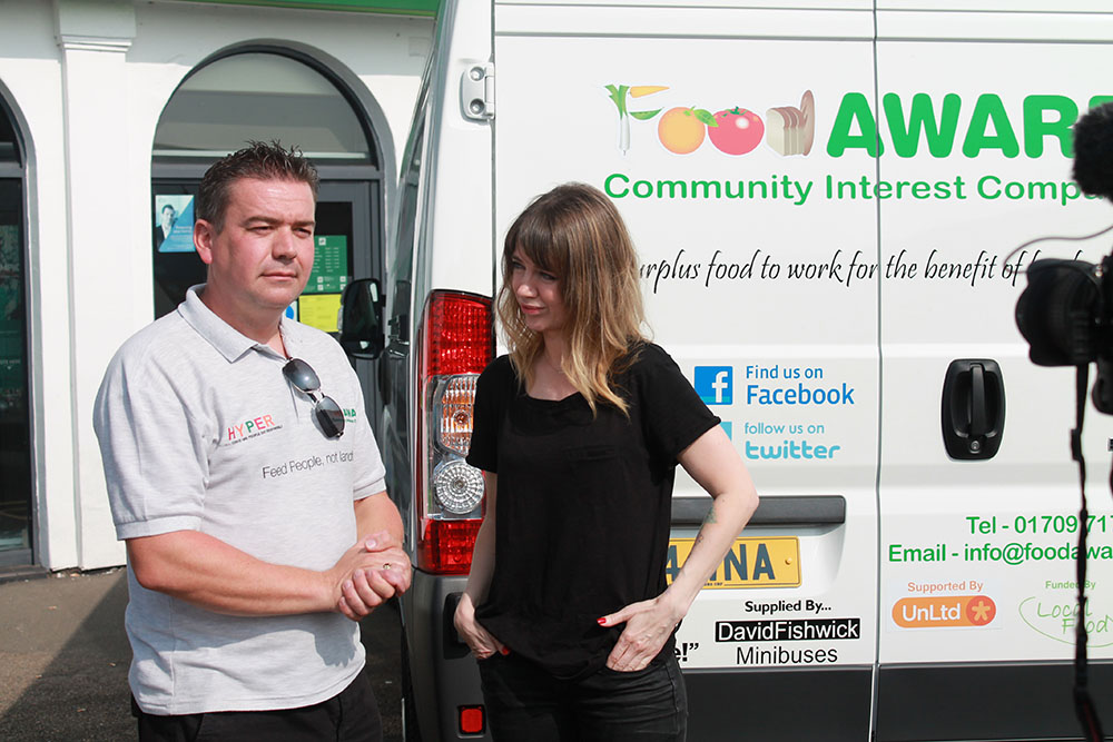 Funds boost for Mexborough food bank