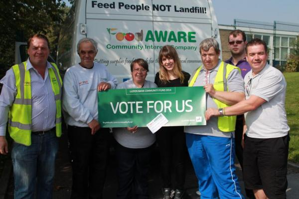 Mexborough Foodbank…….Vote for us!!