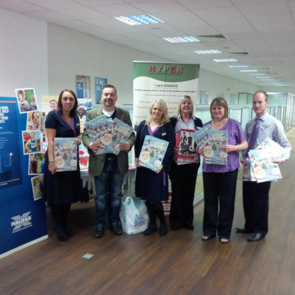 Halifax Bank in Rotherham Donates 60 Advent Calendars to our Maltby Foodbank…….+ More!!