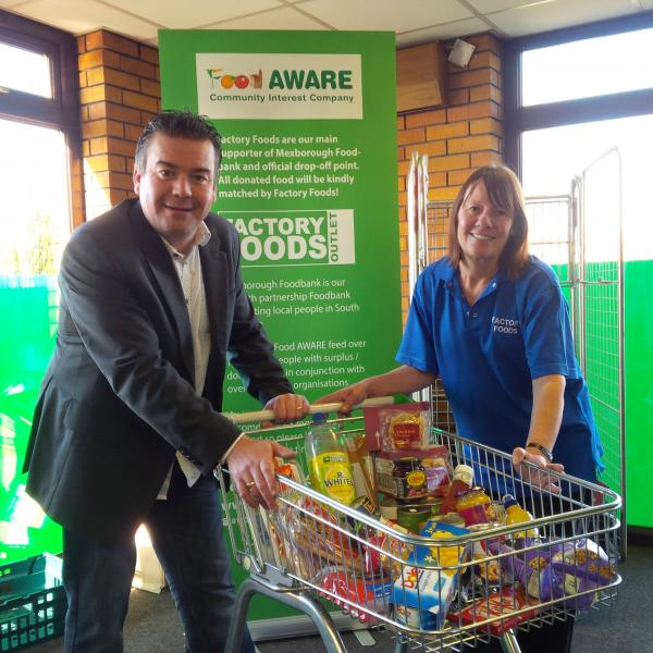 Mexborough Foodbank……Launch on Friday 28th November 2014!!