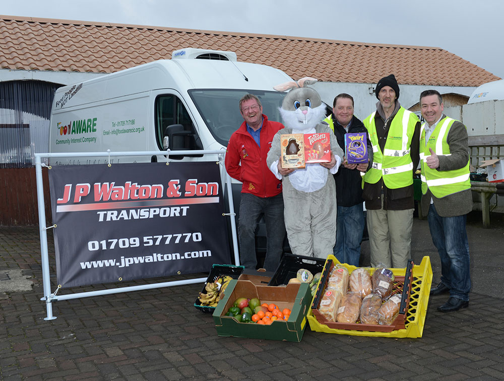 Fantastic 'Easter Bunny' Partnership with JP Walton & Son & Dearne Valley Weekender/Rotherham Advertiser