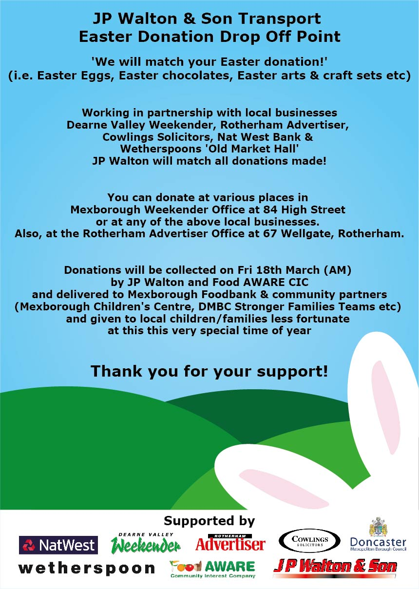 Egg-stra special Easter appeal needs your support