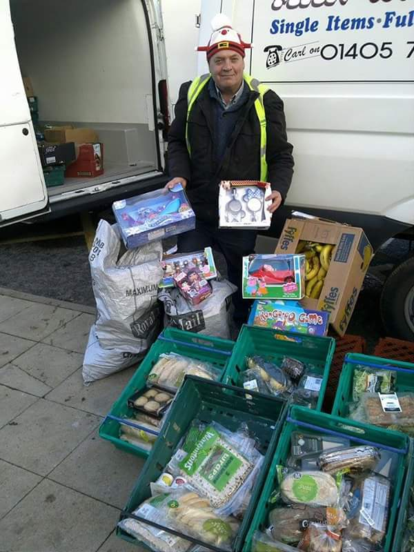 Hallam FM Cash4Kids Toys Distribution