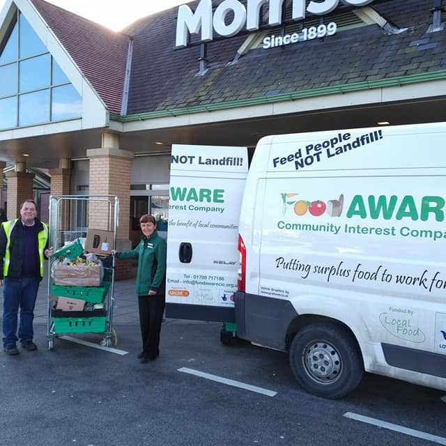 Another Collection of Surplus Food from Morrisons Cortonwood