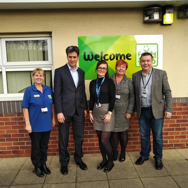 Ed Milibands Recent Visit to Mexborough Foodbank