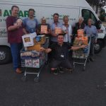 £100 of Donated Food Support by Mexborough Lions for Mexborough Foodbank