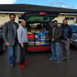 Donated food support to Mexborough Foodbank via Food AWARE by Ilhaam Connected Network