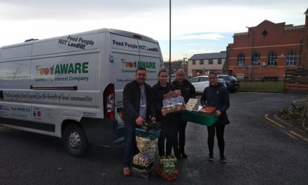 Big thanks to Mexborough Spiritualist Church for donating 56 shoe boxes full of festive goodies