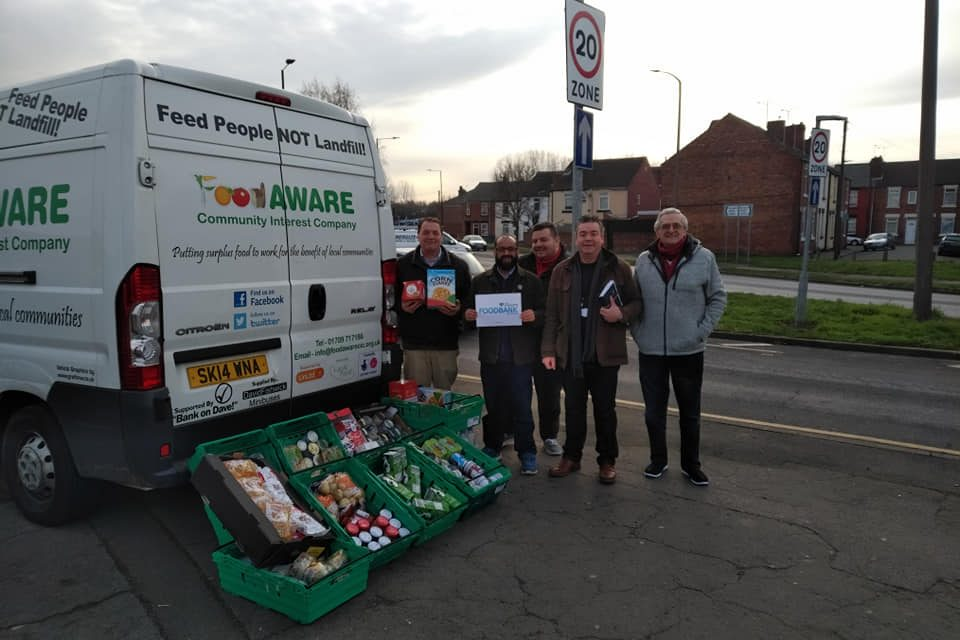 Huge thanks to Ilhaam Connected Networks for latest fab food donation