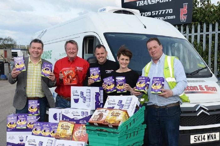 Food Aware Sheffield joined forces with JP Walton & Son for its fifth annual Easter campaign