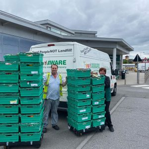 Huge thanks to Morrisons Cortonwood for its continous support to FoodAWARE and the local community projects