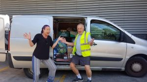 Huge thanks to Donna from Doncaster Street Hub for dropping off weekly supplies for Flo at Pioneer Social Enterprise Ltd