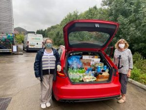 Pioneer Social Enterprise food collection FoodAWARE CIC