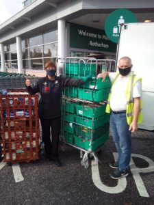 Morrisons supporting FoodAWARE CIC and the local community