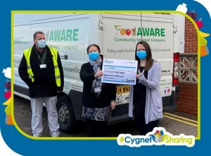 Cygnet House supporting FoodAWARE CIC