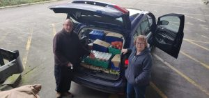 DN7FoodBank being supported by FoodAWARE CIC