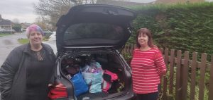 FoodAWARE CIC supporting The Clothing Bank and the local community