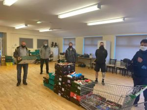Mexborough Foodbank supported by FoodAWARE CIC