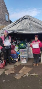 The Clothing Bank being supported by FoodAWARE CIC