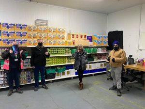 Khalsa Aid International Khalsa Aid supporting FoodAWARE CIC