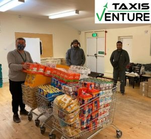 Venture Taxis supporting FoodAWARE CIC