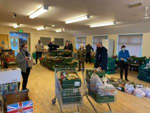FoodAWARE CIC supporting Mexborough Foodbank volunteers
