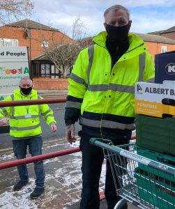 FoodAWARE supporting Bentley Area Community Library
