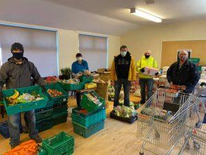 FoodAWARE supporting Mexborough Foodbank