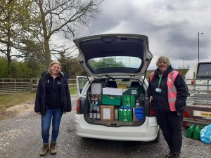 Mel Howram FoodAWARE CIC Supporting YWT Potteric Carr Nature Reserve