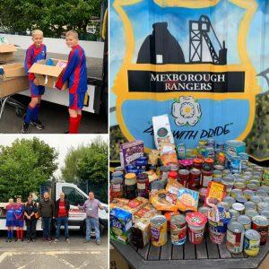 Mexborough Rangers JFC supporting FoodAWARE CIC